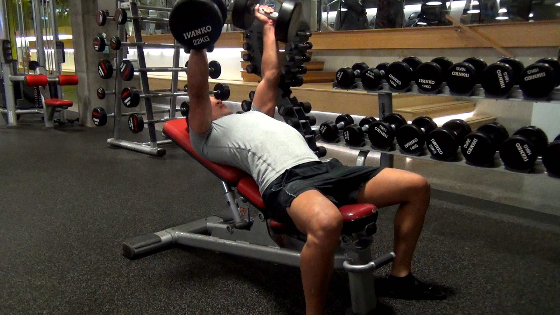 Bench Press Gym Exercise