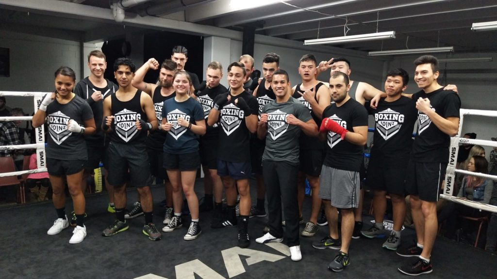 boxing 101 new zealand fighters team
