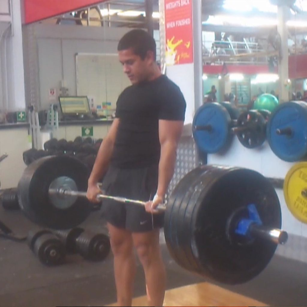 Weightlifting Deadlift Gym Exercise